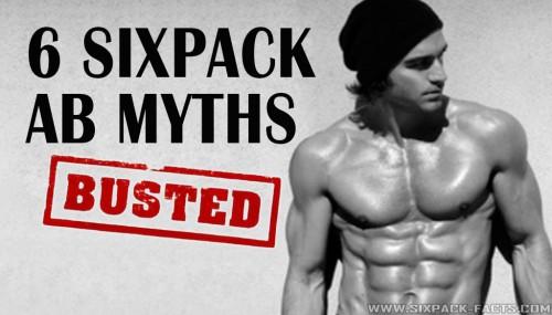 6 Sixpack Ab Myths.. Busted !