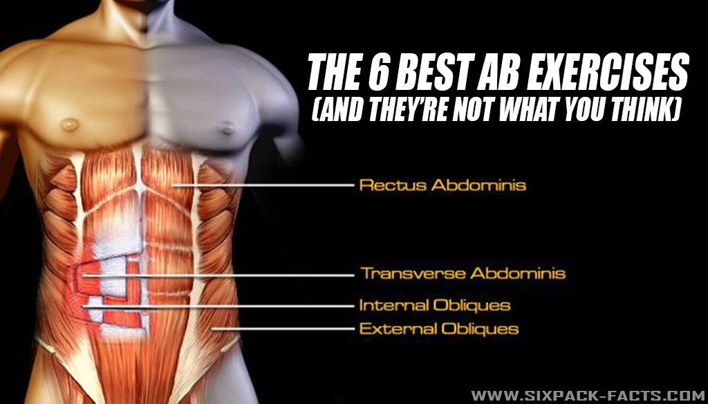 The 6 Best Exercises For Your Abs And Core Sixpack Facts
