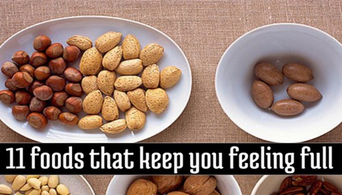 11 Foods That Keep You Feeling Full