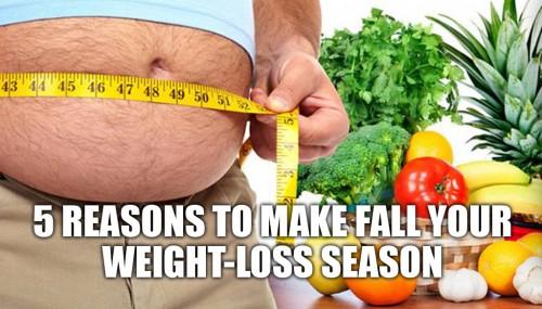 5 Reasons to Make Fall Your Weight-loss Season