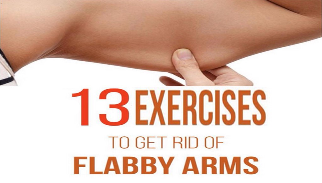 13 Exercises To Get Rid Of Flabby Arms | Sixpack Facts