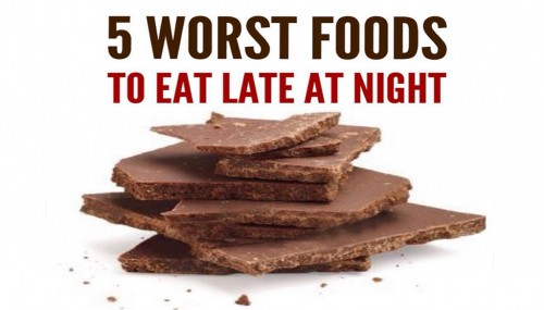The  Worst Foods To Eat Late At Night