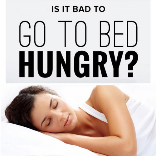 Go To Bed Hungry?