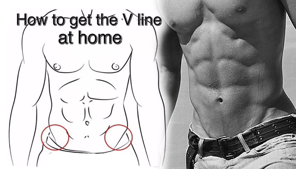 how to six pack at home