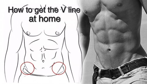 How To Get The Sixpack V Line At Home