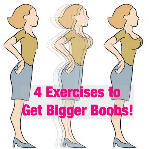 4 Exercises To Get Bigger Boobs!