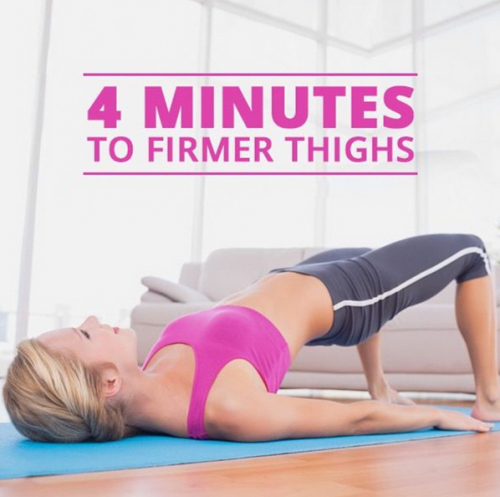 4 Minutes to Firmer Thighs