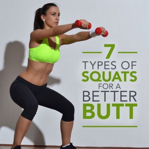 7 Types Of Squats For A Better Butt