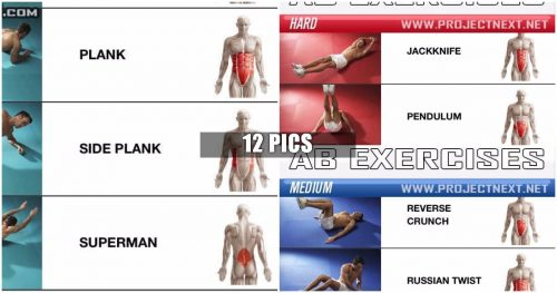 Abs Exercises You Should Try