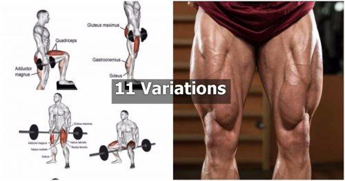 11 Leg Variations You Must try for Monster Legs