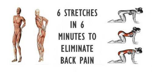 6 Stretches In 6 Minutes For Complete Lower Back Pain Relief