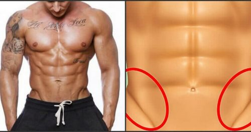 See How To Get The V-Shaped Cut In Your Lower Abs!