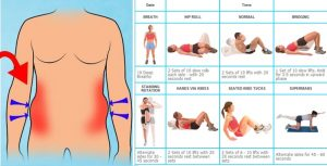 6 Pack Abs Exercises – 4 Exercises to Burn Belly Fat Fast