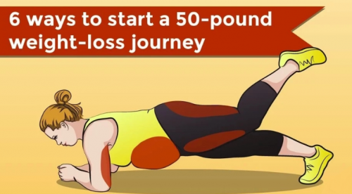 6 Ways To Begin a 50-Pound Weight-Loss Journey
